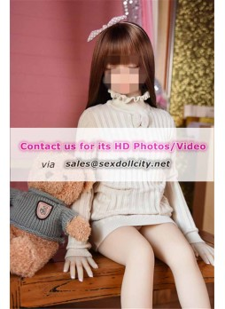 100cm young face looking closed eye dolls with tight pussy Anal sex loli girl flat chested teen sex dolls