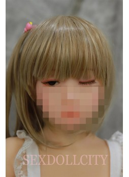 Japanese 106cm eyes movement doll flexible tongue sex doll young flat chest doll