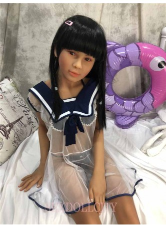 149cm Japanese real sex doll Asian tan full skin life sexy small breast oral vagina