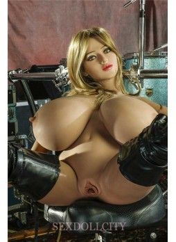 Kasandra newest 150cm huge breast sex doll bigger breast full size silicone sex doll love doll