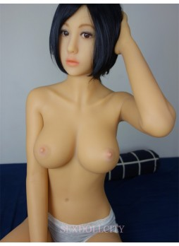 163cm New Japanese Full Size Solid Silicone Sex Doll With Big Breast,Full Body Lifelike Adult Love Dolls Artificial Vagina